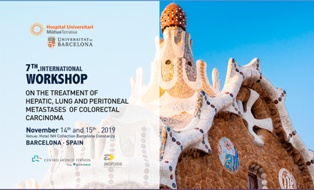 7th International Workshop on the Treatment of Hepatic and Lung Metastases and Peritoneal Carcinomatosis of Colorectal Carcinoma